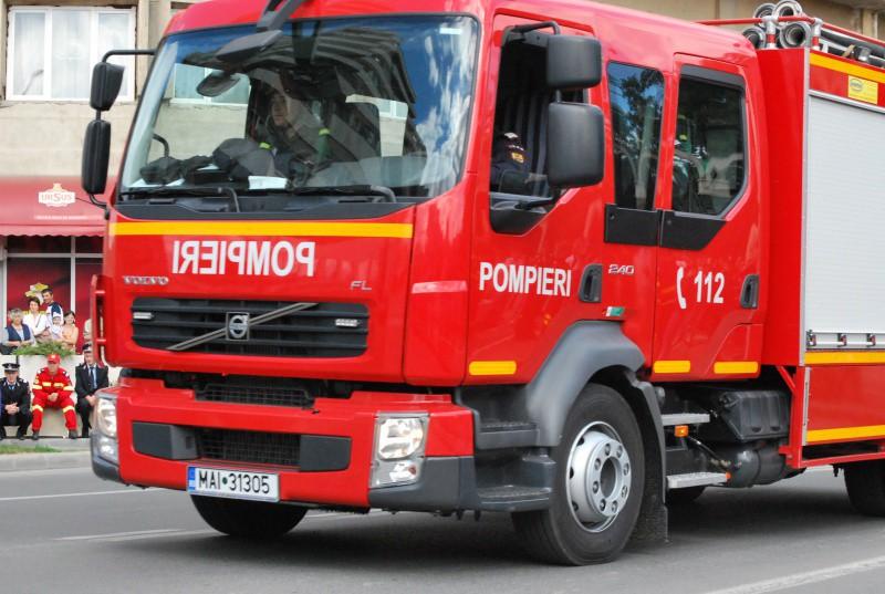 masina interventie pompieri