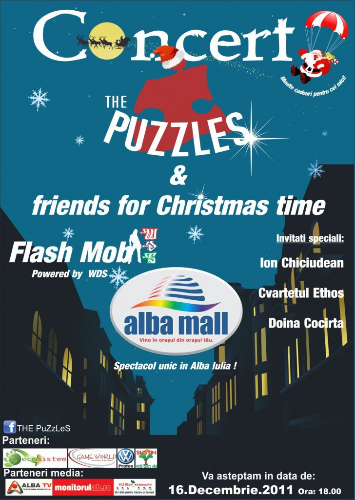 concert the puzzles friends for christmas time la alba mall alba24