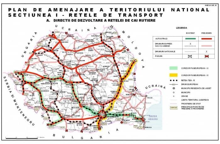 șoselele Din Romania In 2030 Vezi Cate Autostrăzi Si Drumuri