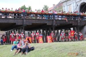 oameni public festival roman apulum