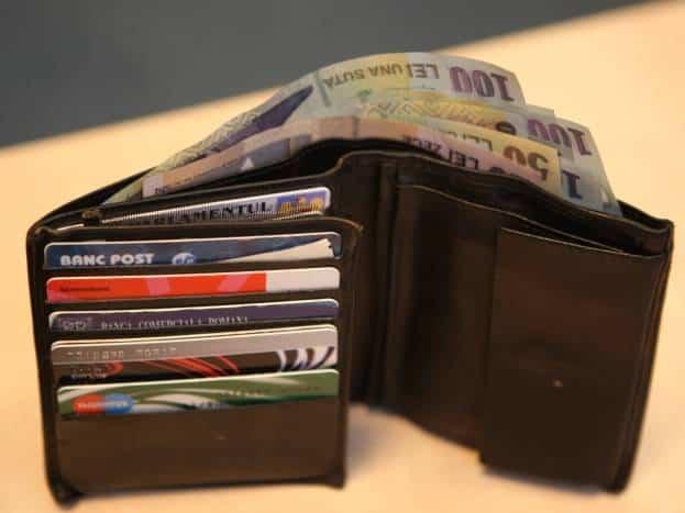 portofel bani