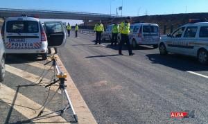 testare aparate radar la politia rutiera