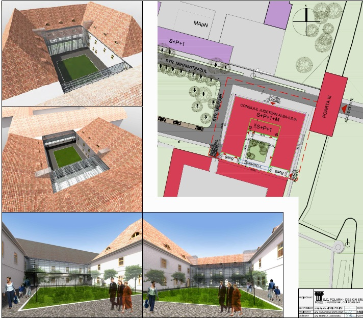 plan PUD sediu CJ centrul militar