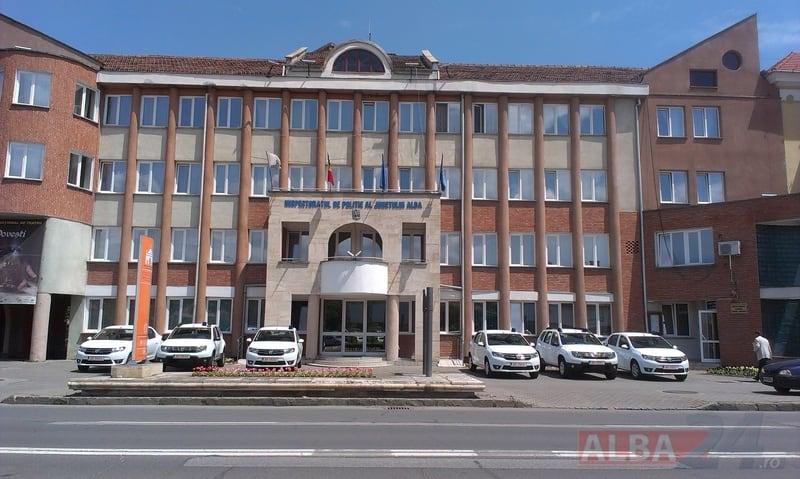 sediul IPJ Alba
