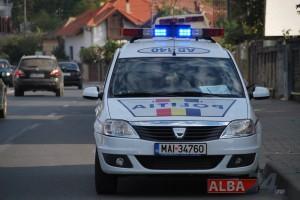 masina politie rutiera alba
