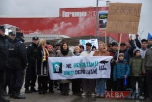 protest sebes 25 ian 2015