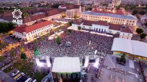 piata cetatii concert Alba Fest