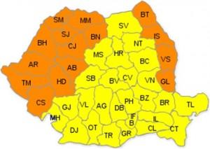 canicula 8 iulie 2015_cod portocaliu harta