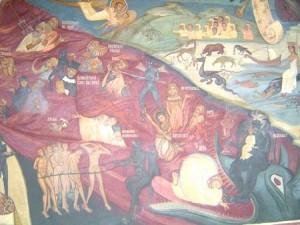 pictura manastirea ramet