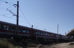 tren calatori