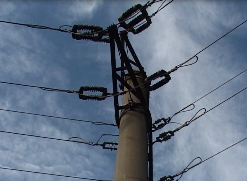 stalp retea electrica
