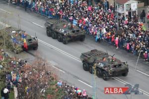parada militara tancuri