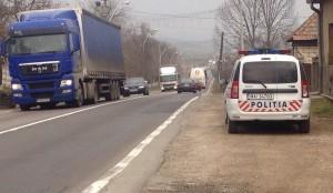 masina politie radar monitorizare trafic