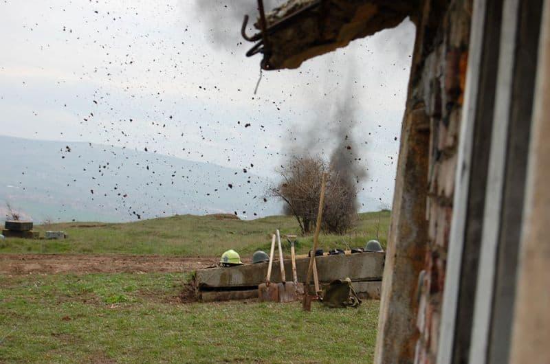 detonari explozibil poligon