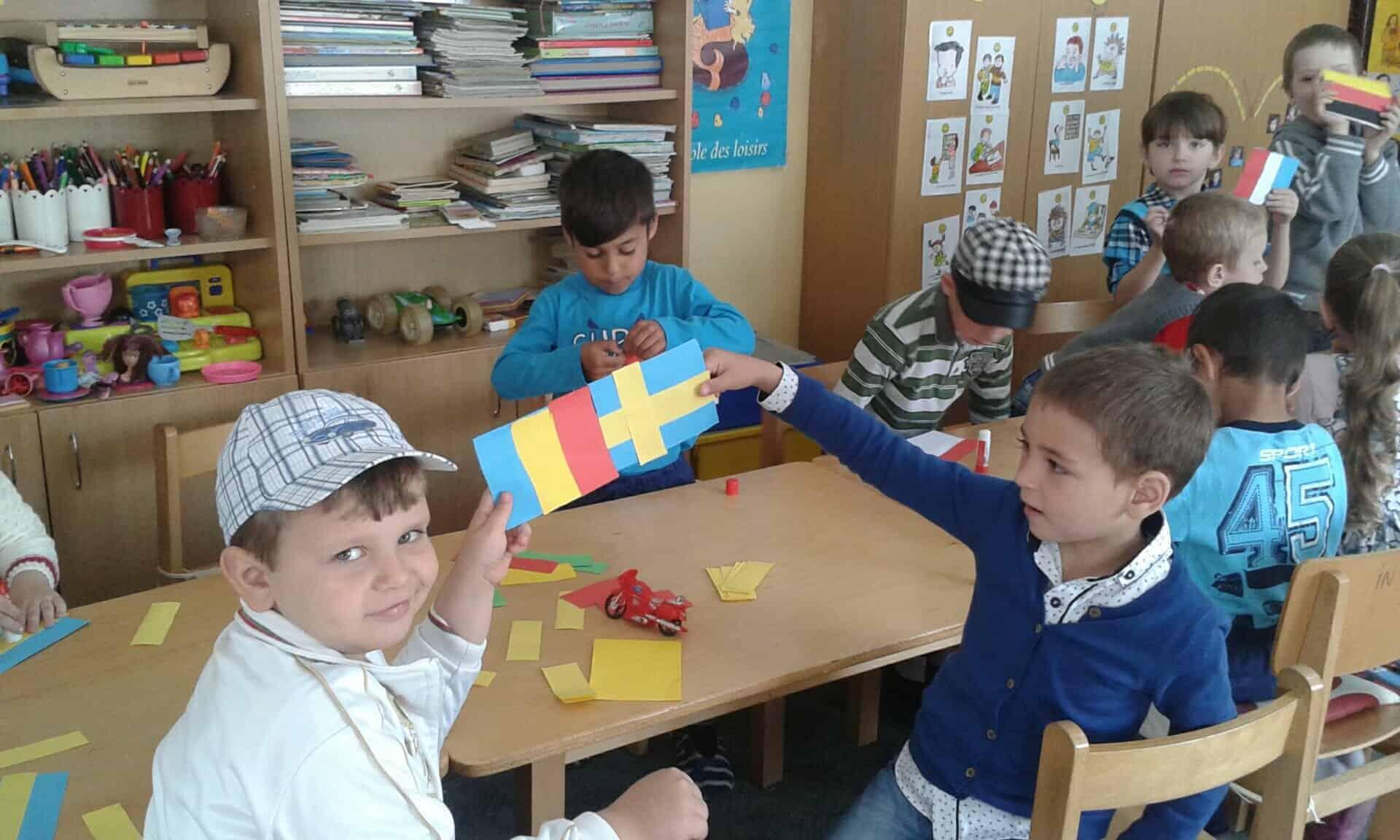Foto Ziua Europei Sărbătorită De Preșcolarii De La