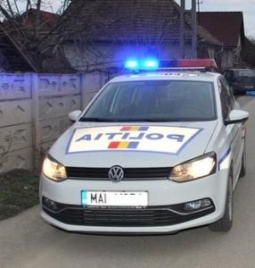 accident politia masina politie