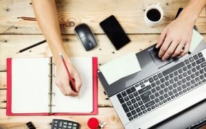 freelancer, calculator, acte, notite