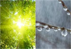 soare ploaie
