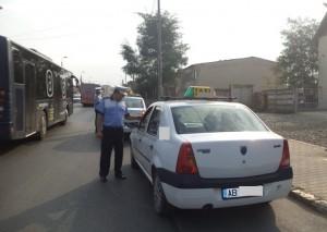 actiune politia taxi
