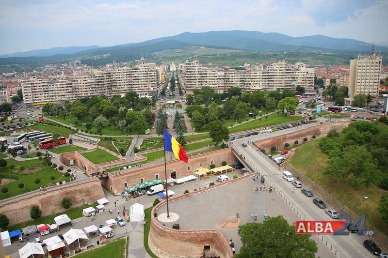 Alba Iulia, latura de vest, cetate