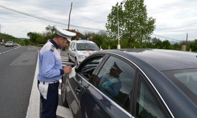 actiune politia in trafic