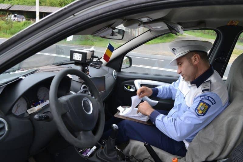 politia radar amenzi