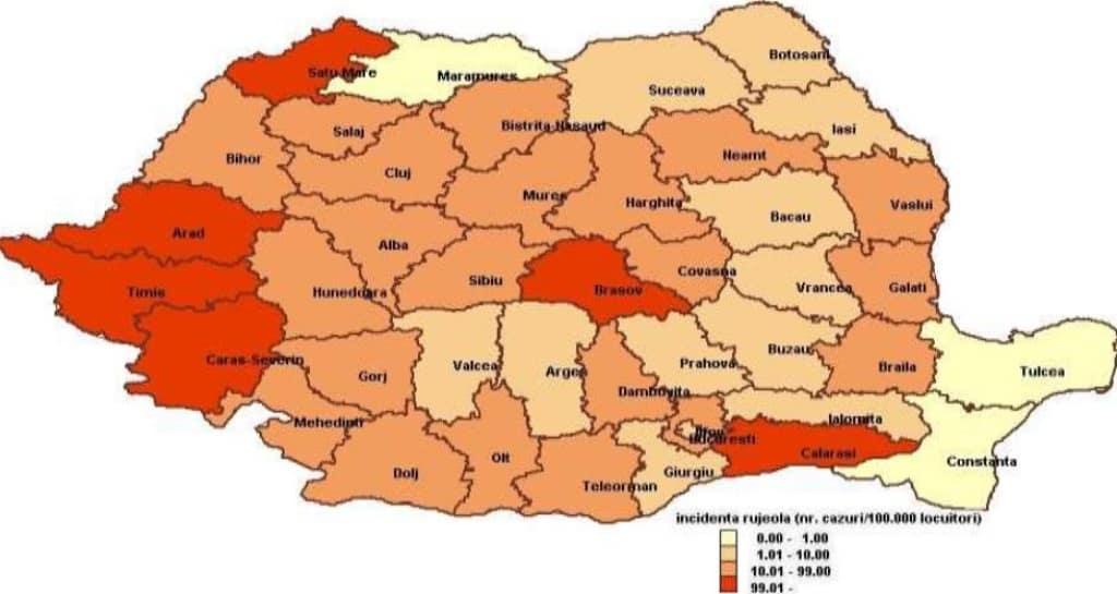 Epidemia De Rujeolă 94 De Cazuri Noi De îmbolnăviri în ţară într O