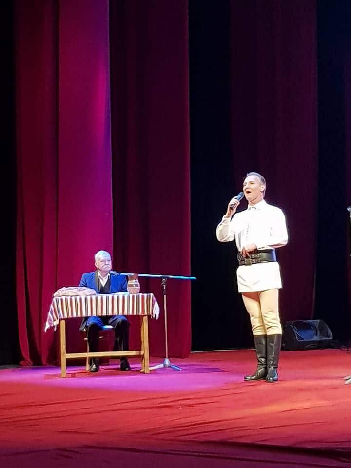 FOTO: Ioan Bocșa, aniversat pe scena Operei din Cluj-Napoca