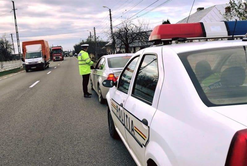 actiune Politia verificare trafic