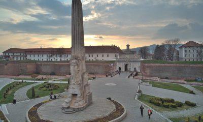 Obelisc Horea Closca si Crisan drona