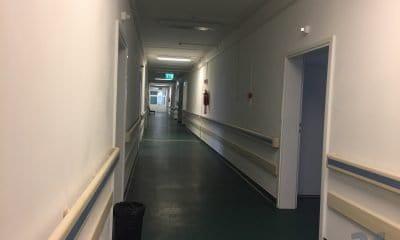 spital, chirurgie, sectie, hol spital, alba