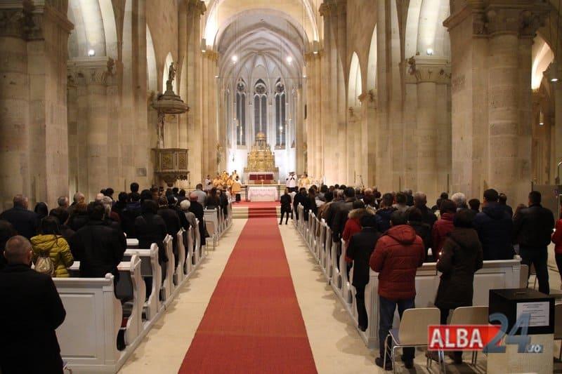 slujba inviere catedrala romano-catolica