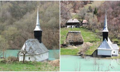 biserica lacul valea sesii