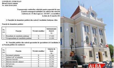 Salarii Consiliul Judetean Alba