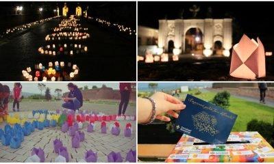 festivalul luminii colaj