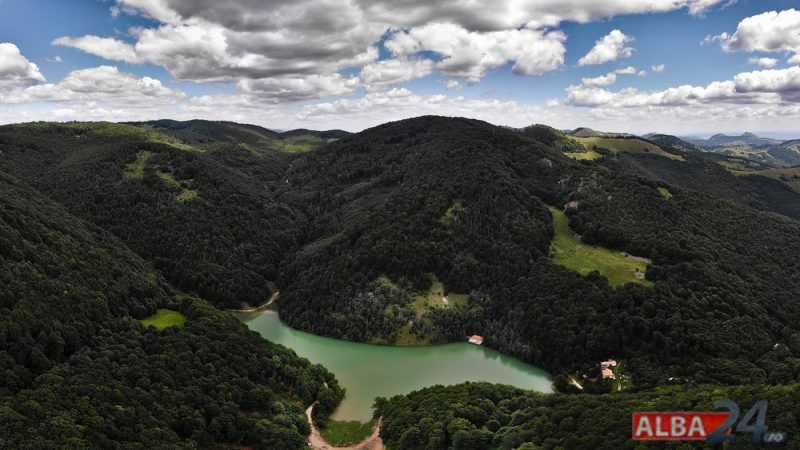 lacul iezer ighel drona 1