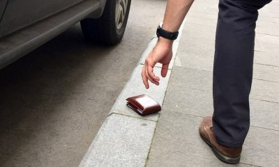 portofel gasit pe strada