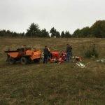 tractor rasturnat prim ajutor
