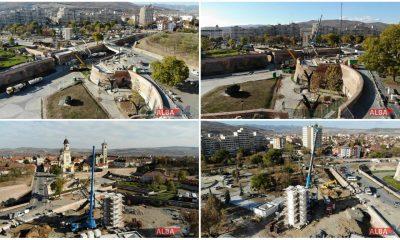lucrari monument poduri axul unirii parc