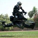 motocicleta zburatoare