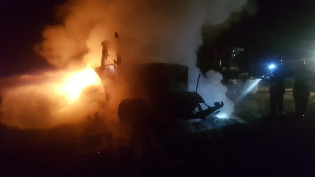 incendiu tractor 1