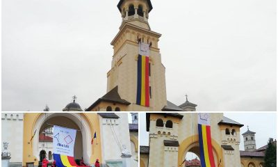 steag pe catedrala