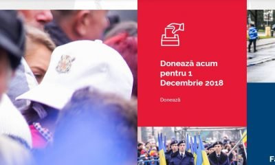 doneaza pentru 1 decembrie 2018