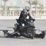 motocicleta drona