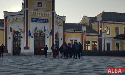 gara alba iulia elevi