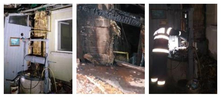 incendiu centrala lemne
