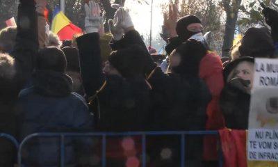protest Jandarmeria