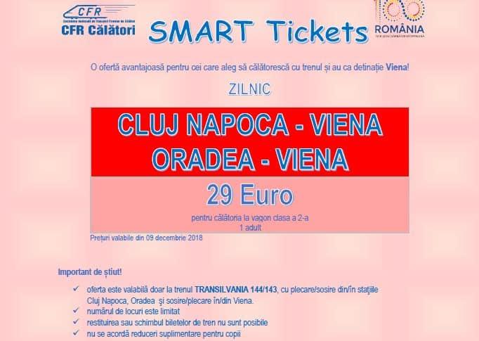 smart tickets cluj viena