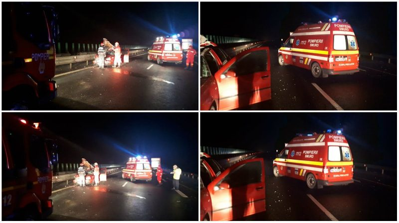 accident a1 sebes orastie