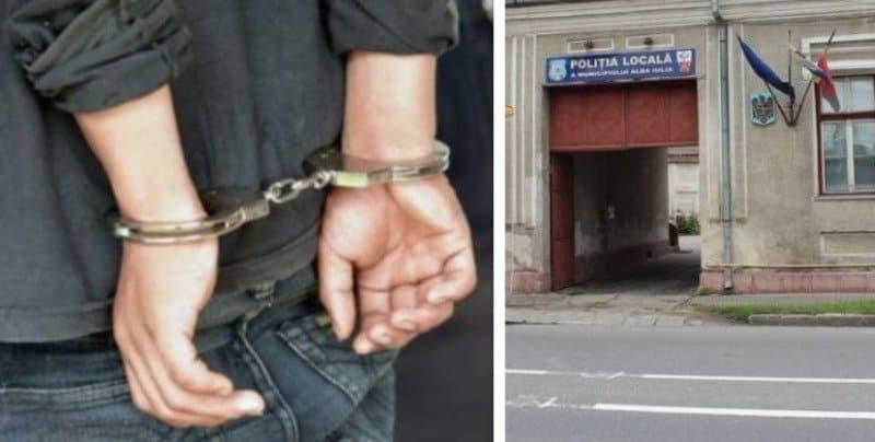 arestat politia locala